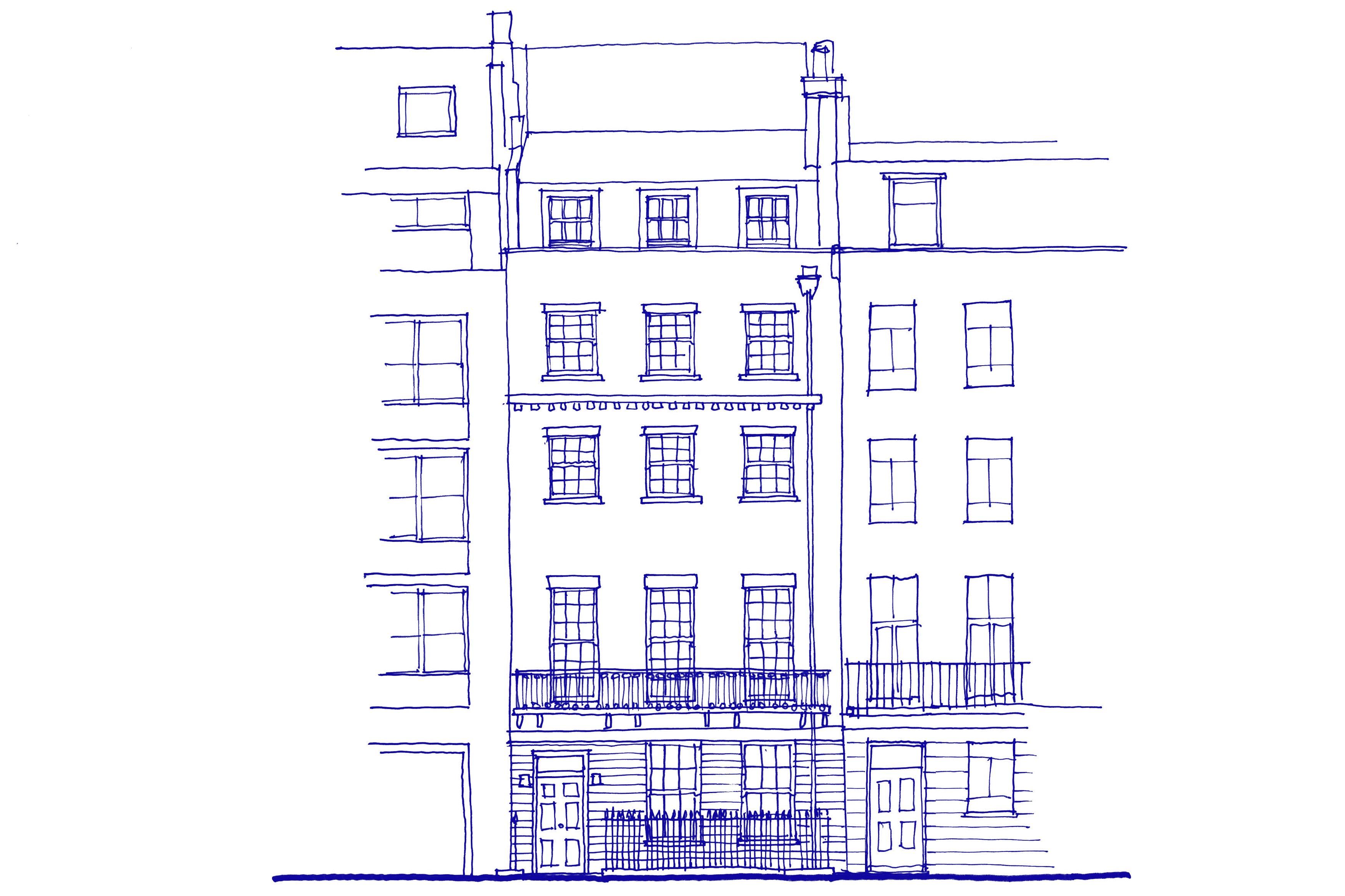 Fathom Architects | Under wraps – Babmaes Street, St James's